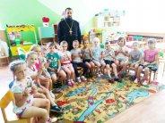 Священник провел встречу с воспитанниками детского сада №25 г. Липецка