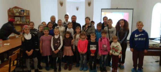 Торжественное открытие учебного года в воскресной школе