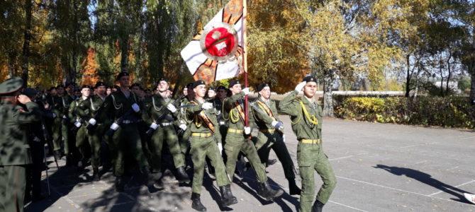 3 октября 2019 года священник посетил торжественное мероприятие «Клятва кадета» в СШ№14 г. Липецка