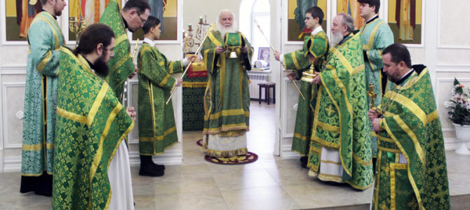 15 января 2020 года в день памяти святого Серафима Саровского митрополит Липецкий и Задонский Арсений возглавил богослужение в храме.