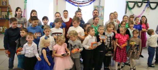 12 января 2020 года в восскресной школе состоялся рождественский утренник
