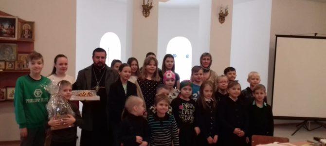 2 февраля 2020 года в воскресной школе храма прп. Серафима Саровского г. Липецка прошел литературный вечер, посвященный творчеству русских поэтов С.Есенина и И. Бунина.