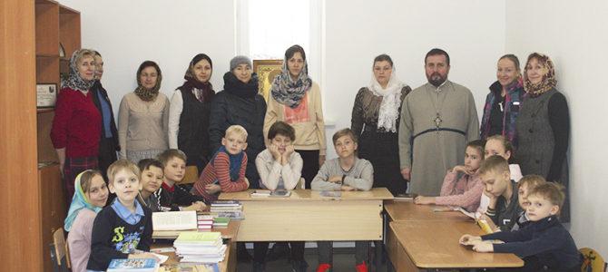 В воскресной школе храма преподобного Серафима Саровского г. Липецка прошли мероприятия в честь Дня православной книги